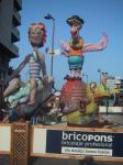 Fallas in Valencia und denia
